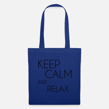 Keep Calm and relax - Tote Bag