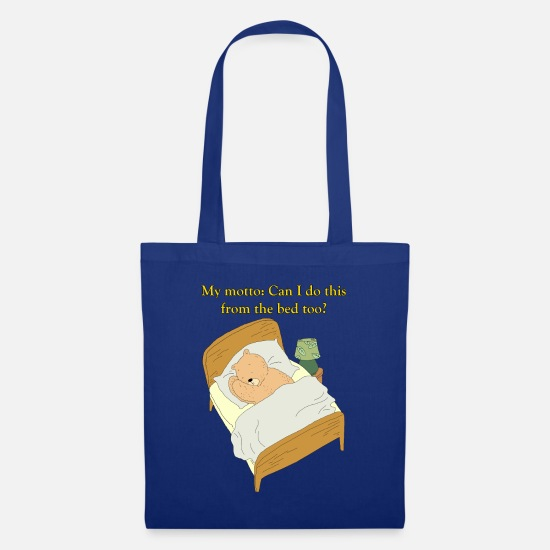 Lustige Sprüche Schlafen Bären Geschenk Shirt Stoffbeutel