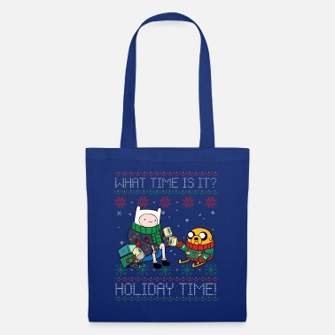 Adventure Time What Time Is It? Holiday Time! - Tote Bag