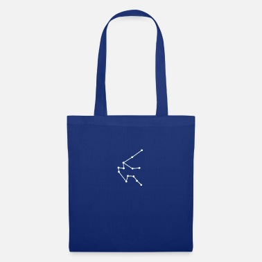Zodiac sign Aquarius - Tote Bag