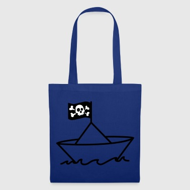 Bateau pirate - Tote Bag