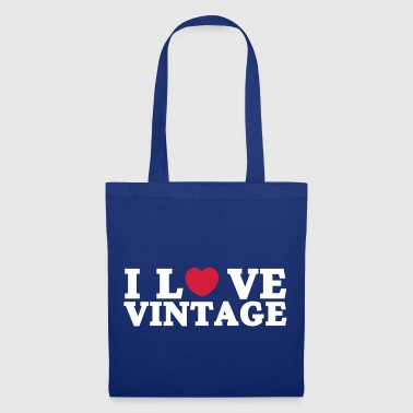 i love vintage - Tote Bag