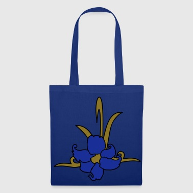 tatouage tribal patjila orchidées - Tote Bag