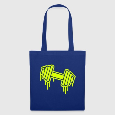 Dumbbell - Tote Bag