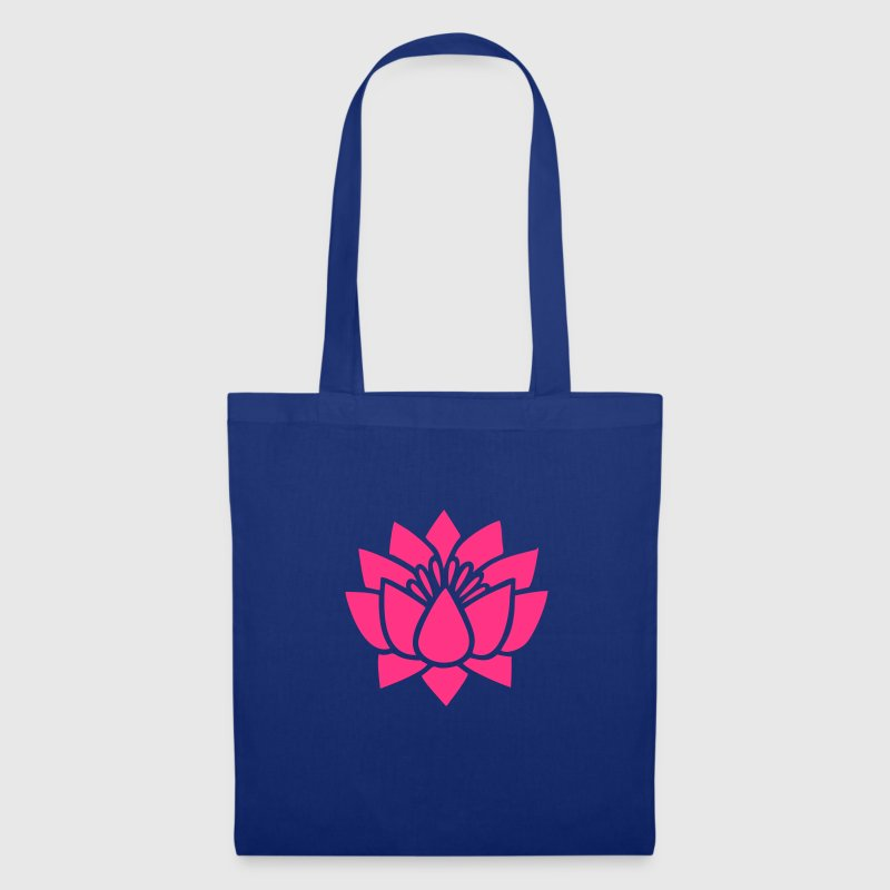 Lotus flower, Symbol of wisdom and enlightenment - Tote Bag