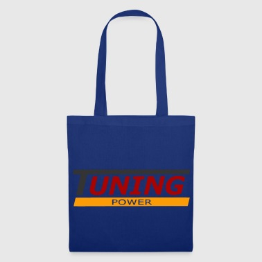 tuning power - Bolsa de tela
