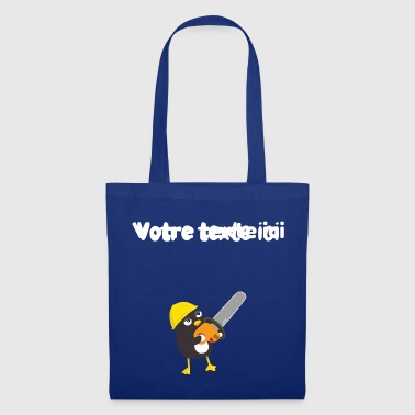 Pingouin de chantier - Tote Bag