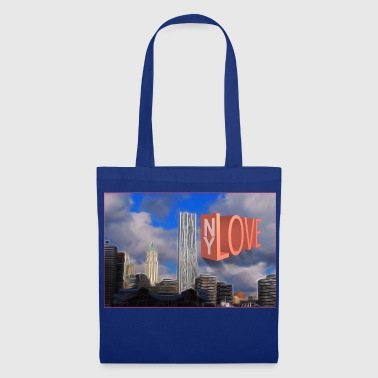 Ny NY LOVE - Tote Bag