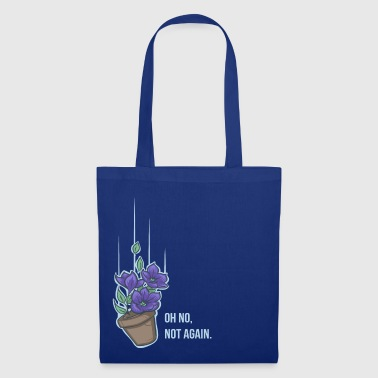 Thoughts of a falling bowl of petunias - Tote Bag