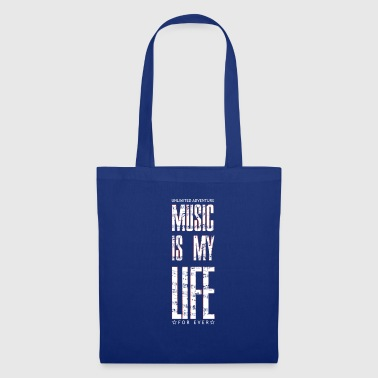 Everlasting Life Music is my life, is a way of life - Tote Bag