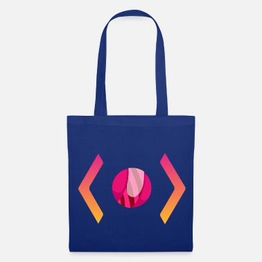 Horizontal horizontal eye - Tote Bag