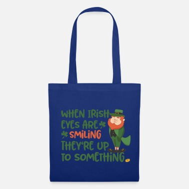 Lucky Charm Irish eyes shine - Irish leprechaun - Tote Bag