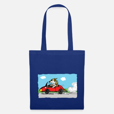 Bolide bolide et chien - Tote Bag