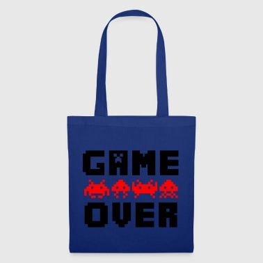 game over - Bolsa de tela