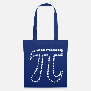 Geek pi outline - Tote Bag