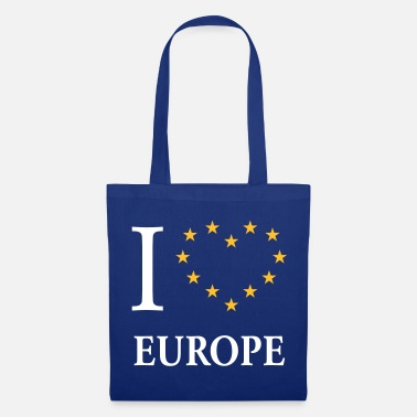 Eu I Love Europe / I Heart Europe - Tote Bag