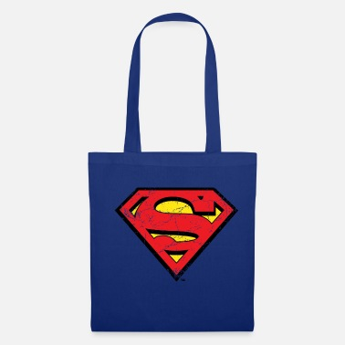 Superheld DC Comics Superman Logo Used Look - Stoffbeutel