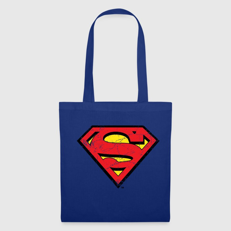 DC Comics Superman Logo Look Usé - Tote Bag
