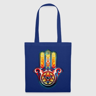 Hamsa Hand Of Fatima, Symbol, Eye, Pyramide - Tote Bag