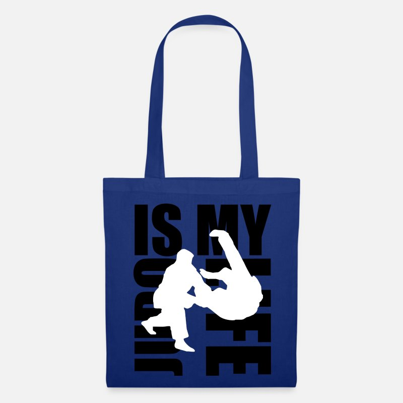 Judo Bags & Backpacks - judo is my life - Tote Bag royal blue
