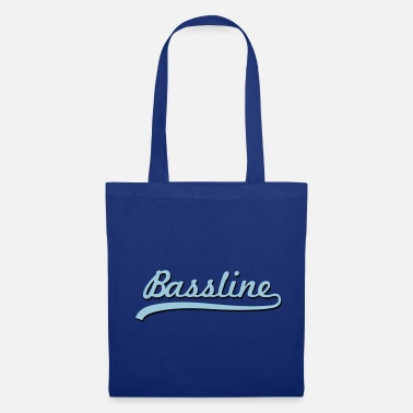 Techno Bass Bassline / Dubstep / Techno / Bass - Tote Bag