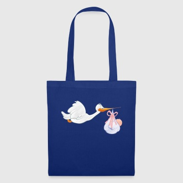Toddler Stork with toddler - Tote Bag