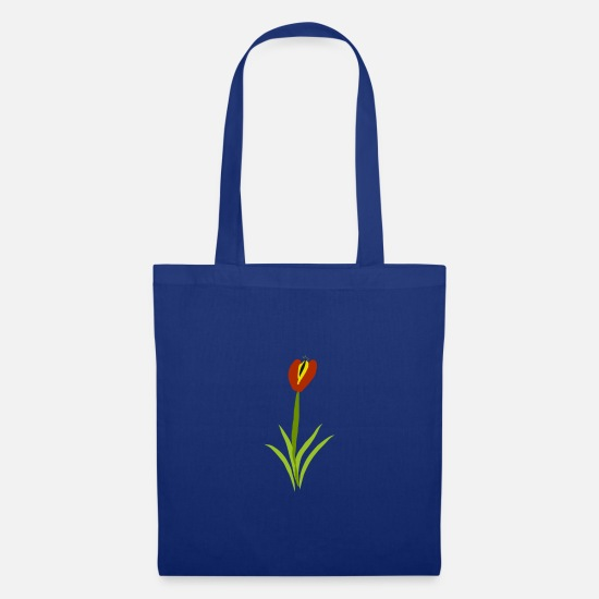 Blume Bags & Backpacks - tulip - Tote Bag royal blue