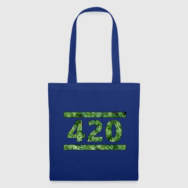 420 herbe # 420 cannabis chanvre cannabis - Tote Bag