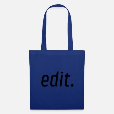Edition edit. - Tote Bag