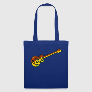 Rock n 'roll guitar - Borsa di stoffa