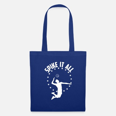 Spike Volleyball Spike it all - Tote Bag