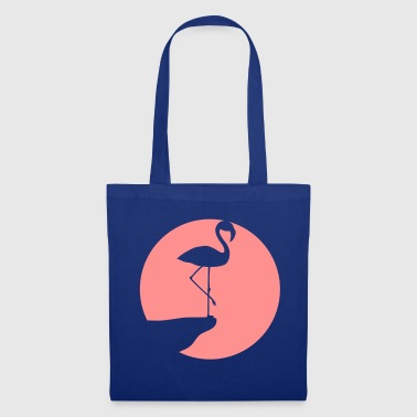 area moon circle round cliff silhouette outline f - Tote Bag