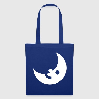 Moon night sky sickle half moon - Tote Bag
