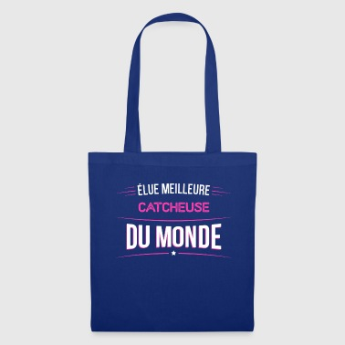 Catcheuse t shirt drole pour Catcheuse - Tote Bag