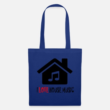 House House Music House Party Shirt - Bolsa de tela