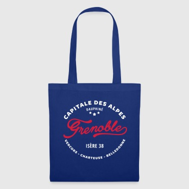 grenoble capital of the Alps - Tote Bag