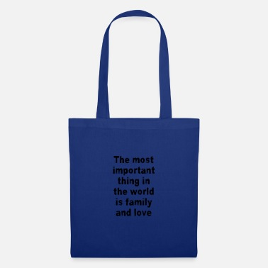 Cherish Family and Friends - Tote Bag