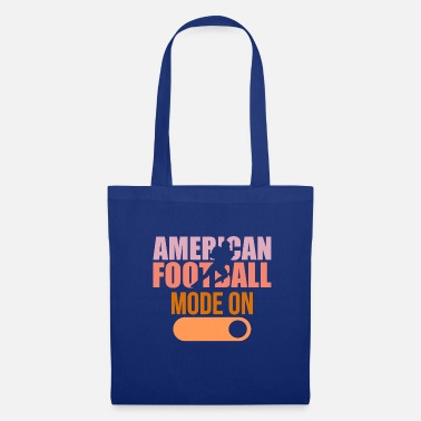 Touch Down American football on touch down tackle - Tote Bag