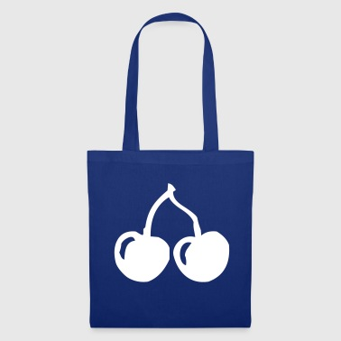 Cherry Cherry cherries two fruit fruit healthy gift - Tote Bag
