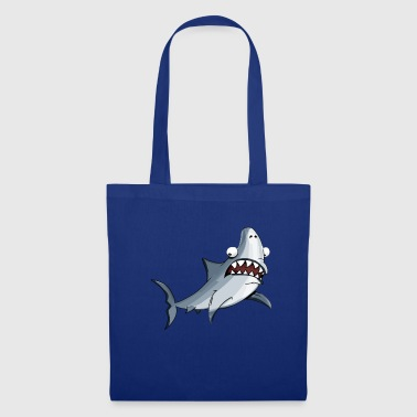 Anxieux Requin anxieux - Tote Bag