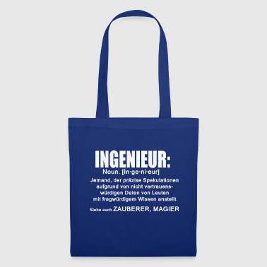 Ingenieur Definition - Stoffbeutel