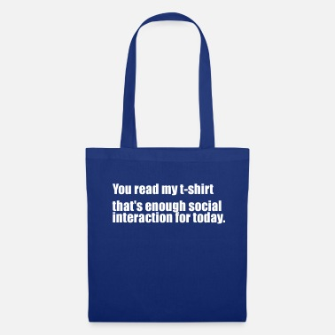 Scottish you read my t shirt - Tote Bag