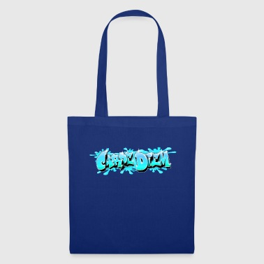 Carpe Diem Graffiti Carpe Diem Bleu - Tote Bag