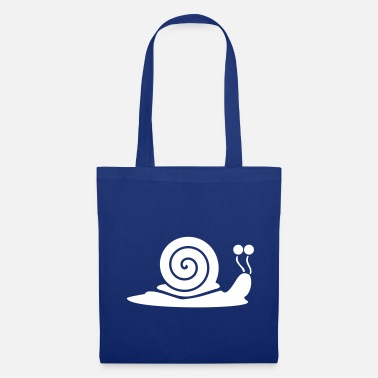 Snail Shell Snail with snail shell - Tote Bag