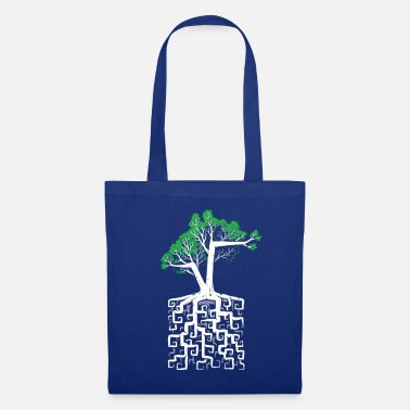 Roots Square Root - Tote Bag