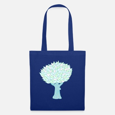 Bright Colours Tree bright - Tote Bag