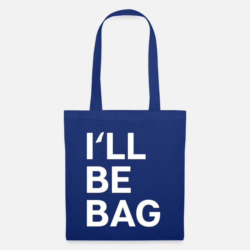 Shopping Bags & Backpacks - I'LL BE BAG - Tote Bag Shopping bag Jute bag - Tote Bag royal blue