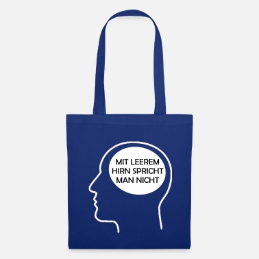 Text Provocation Speeches brain - Tote Bag