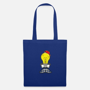Intelligent L'ampoule intelligente. Cool, intelligent et intelligent! - Tote Bag