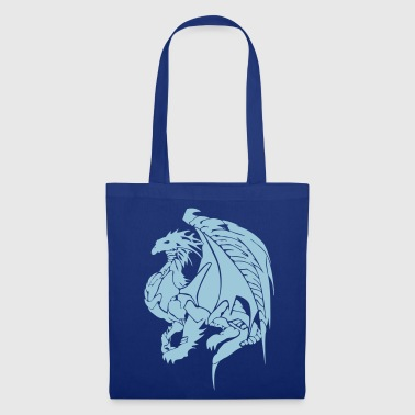 dragon vect v2 by customstyle - Tote Bag